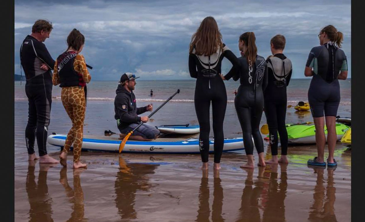SUP Lesson Sidmouth